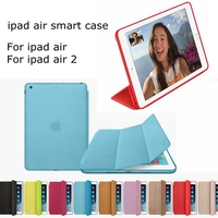 pad smart case for ipad air 1/2 leather case for ipad 56