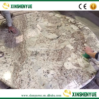 Natural Polished Marble Dining Table Base