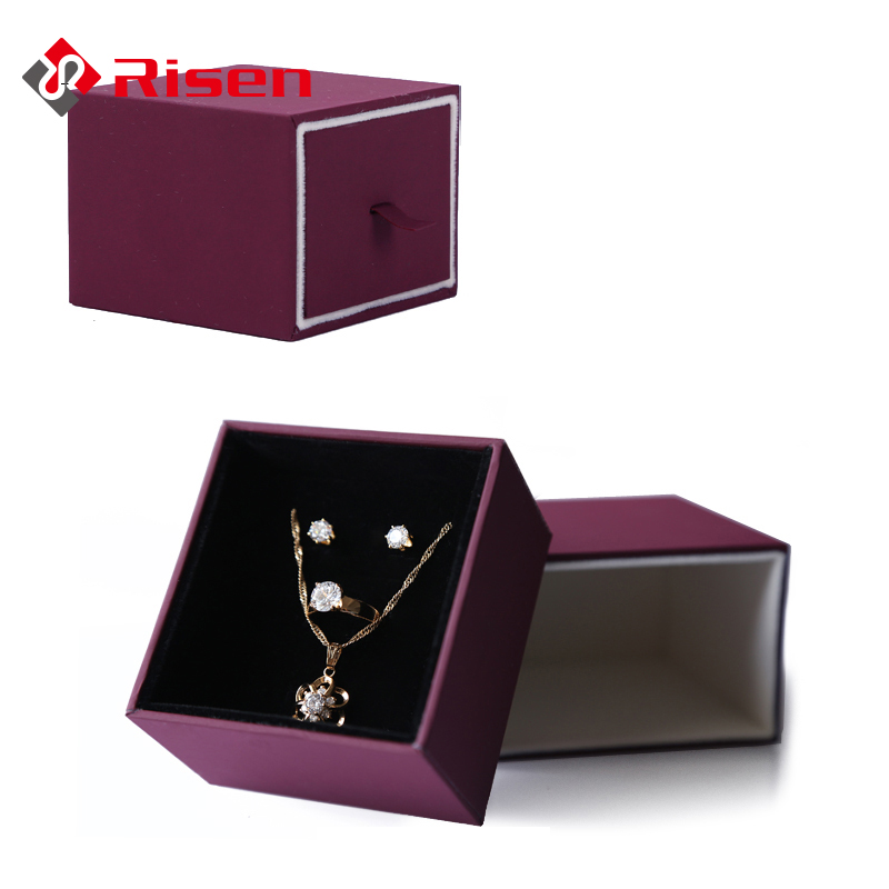 Paper custom jewelry box gift boxes small quantity
