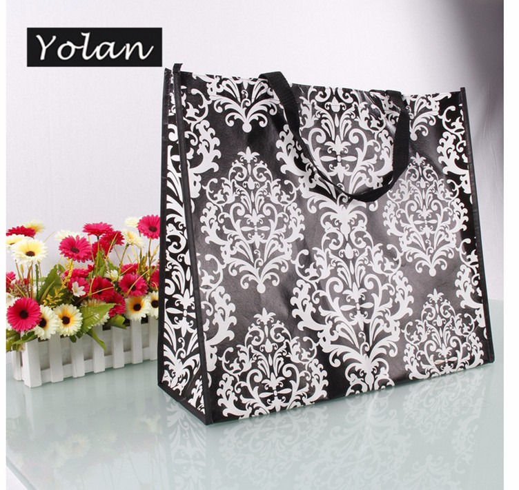 Yiwu great laminated non woven bag foldable non woven bag wholesale