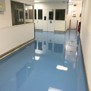 Economic and durable thin coating epoxy resin floor paint system