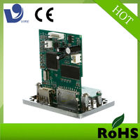 energy saving buy printed 12v usb led screen radio pcb receiver mp5 circuit board