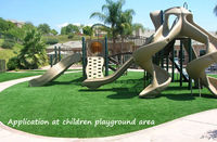 SYNTHETIC ARTIFICIAL GRASS TURF KIDS & CHILDREN PLAYGROUND