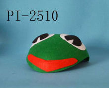 Well liked frog hat for kiddie