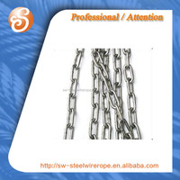 SS304 SS316 SS316L Stainless Steel Link Chain