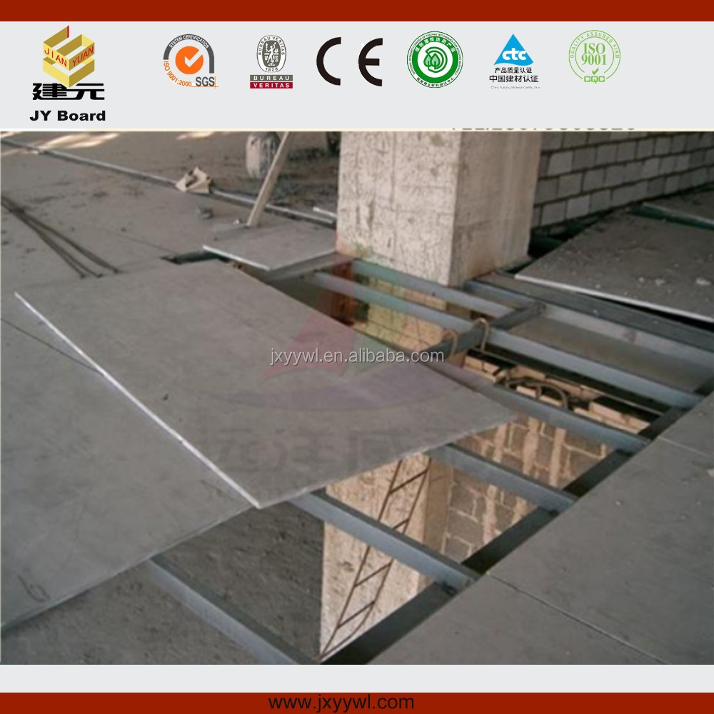 A1 Fireproof Material Fiber cement board Floor finish board good quality 20mm low price