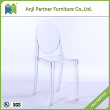 Cheap transparent poly carbonate functional dining table and chair(Noguri-S)
