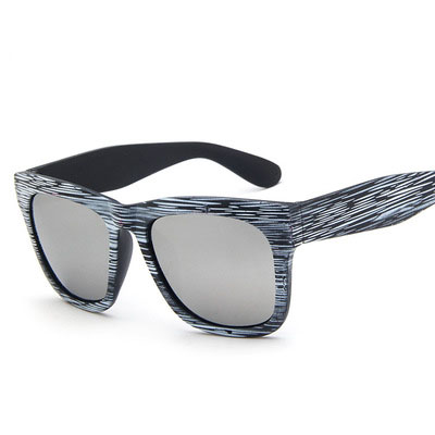 Colorful wood reflective Sunglasses,wooden look sunglasses,wood <strong>grain</strong>
