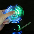 China Suppliers ABS Glowing Crystal Spinner LED Toy