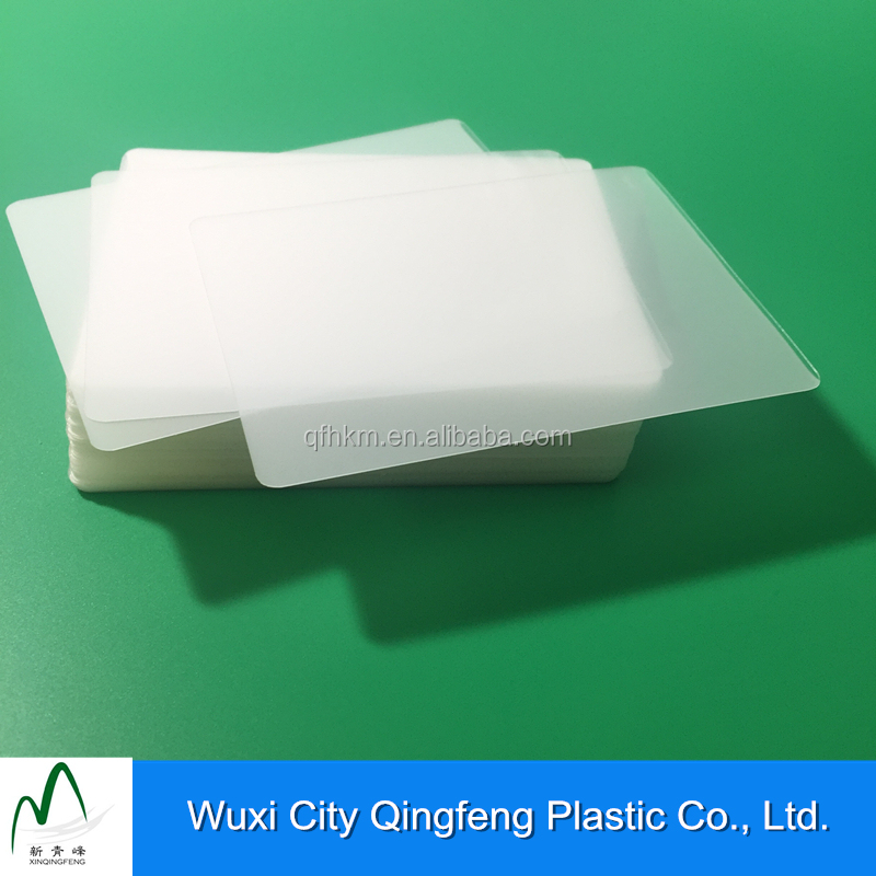 100pcs Per Packet Protecting Card Cover Plastic Clear Film For Office