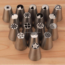 304 Stainless Steel Pastry Tips Cupcake Sugarcraft Decorating Tool
