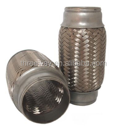 hot sale stainless steel material exhaust flexible bellow pipe with innerbraid or innerlock