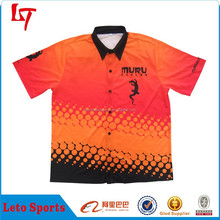 full button motorcycle shirts/motocrosse jersey/polo neck auto racing uniform