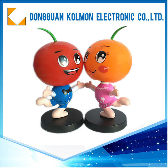 ABS Plastic Cheap Promotion promotive gift Bobblehead doll promotion gift set