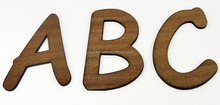New Cheap Wooden Alphabet Letters Wholesale