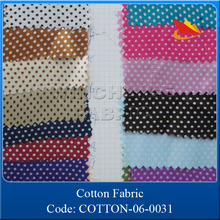 Fabrics textile supplier, 100% cotton printed dots fabric