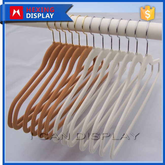 Clothes Hanger Velvet Men Suit Hangers