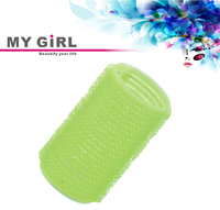 MY GIRL Hot Sell Salon Hoop and Loop Plastic Velcro large hair rollers