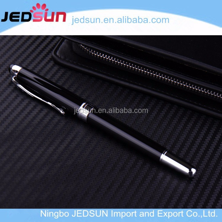 Promotional simple BIC style pp plastic stick ball pen roller ball pen fancy ball point pen