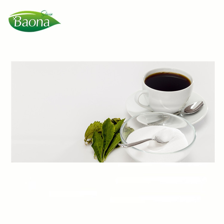 Low calorie sugar stevia dry leaves extract reb a 97% powder for dairy product