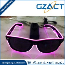 Festive party decoration el equalizer light up sunglasses