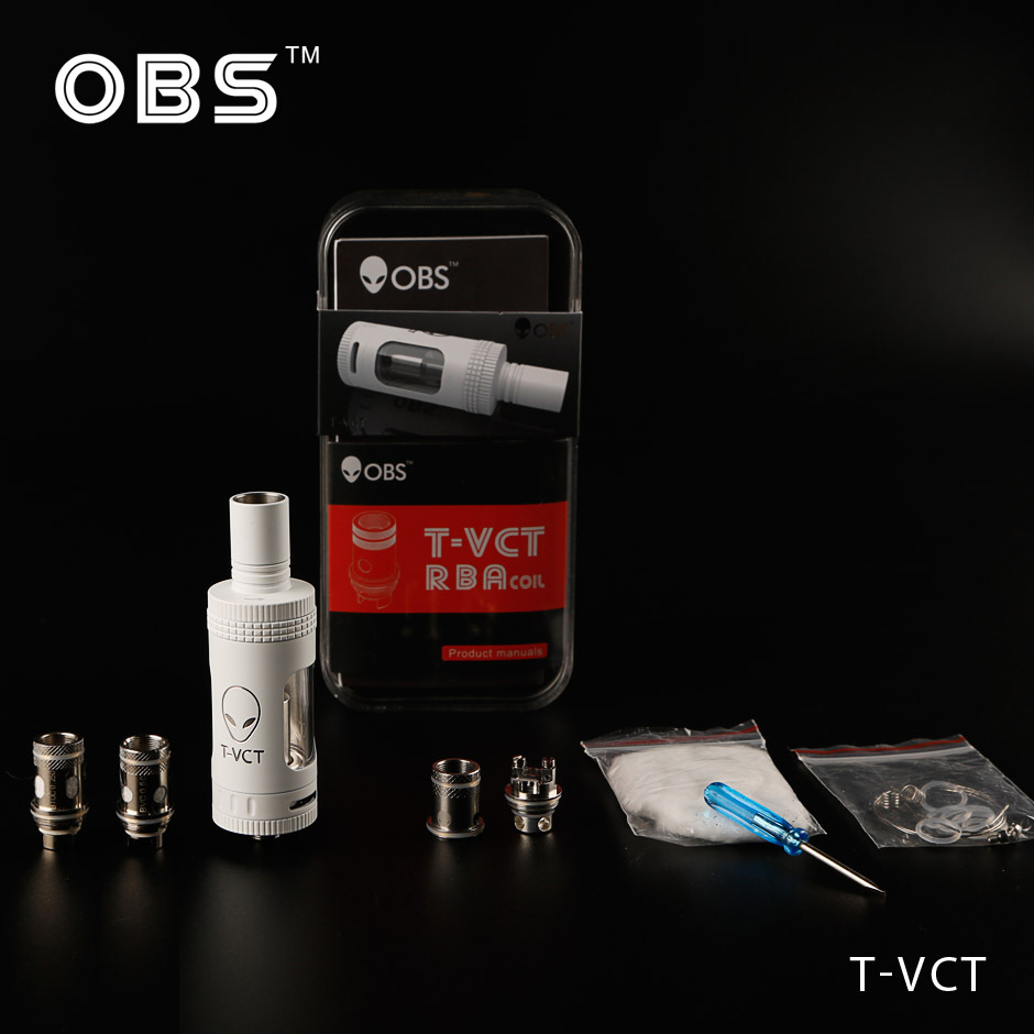 Good news coming----electronic cigarette atomizer OBS high quality tank T VCT Subohm tank