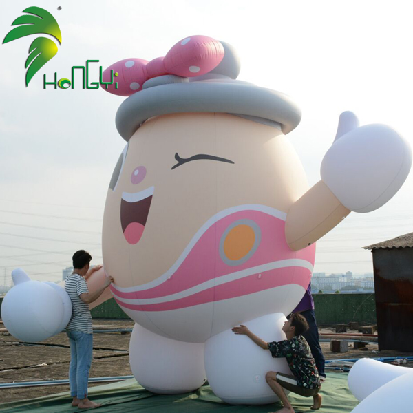 Custom Advertising Inflatable Mascot Cartoon Figure For Sale