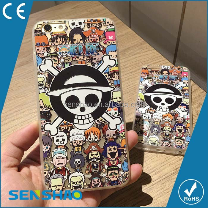 cool style cover 3D skull shape mobile phone case for iphone 6 6s