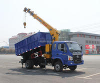 Dump truck mounted crane--factory direct sale 008615826750255(Whatsapp)