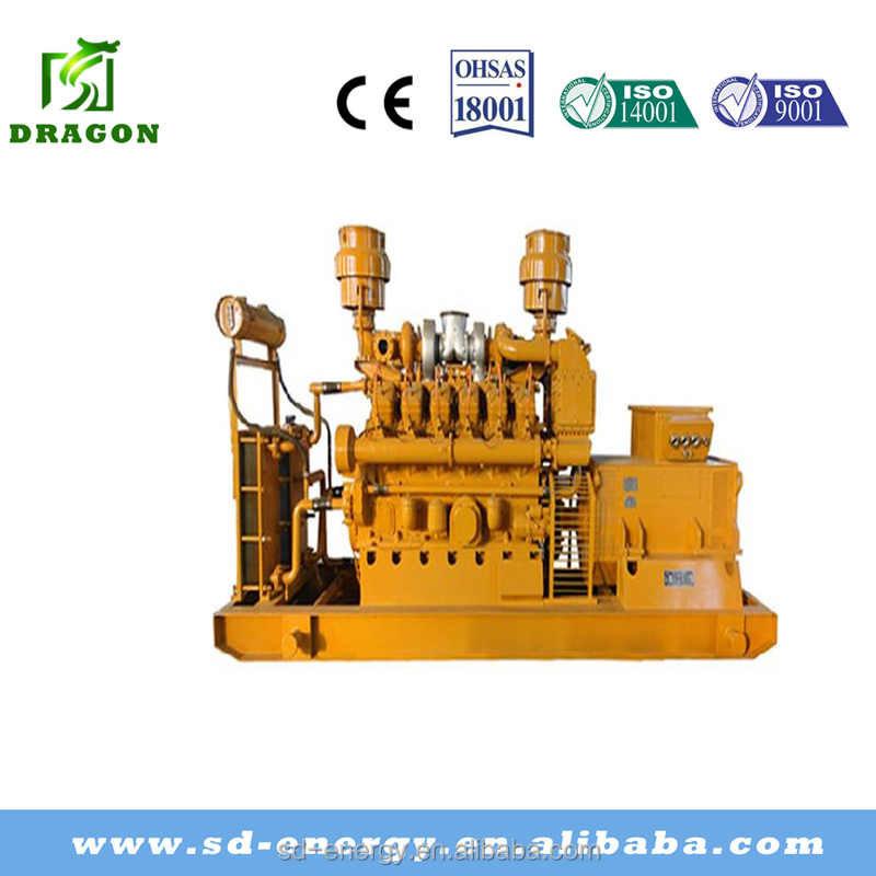 CE approved stable power engine power generator 50HZ/60HZ 500kw natural gas generator set and ac alternator