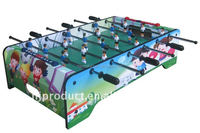 Factory promotion 37'' small mini baby foot game table kids table top kicker football table