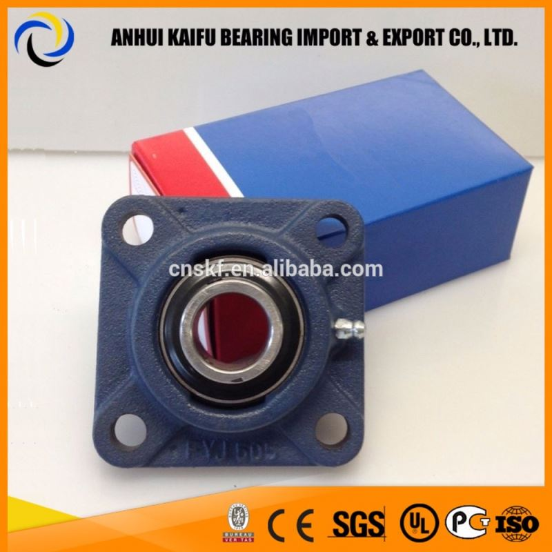 FY 508 pillow block bearing,Y-bearing square flanged units FY 40 TDW