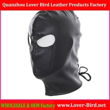 Adult Games Patent Leather Latex Sex Mask Erotic Toy Fetish Bondage Head Halloween Wet Look Sexy Mask Hood for Women and M