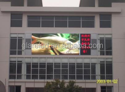 full color p10 outdoor led display screen video message led display