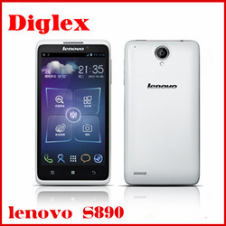 "5.0"" QHD IPS Lenovo S890 MTK6577 Dual Core 1.2GHz 2250mAh battery 8.0MP Camera android phones"