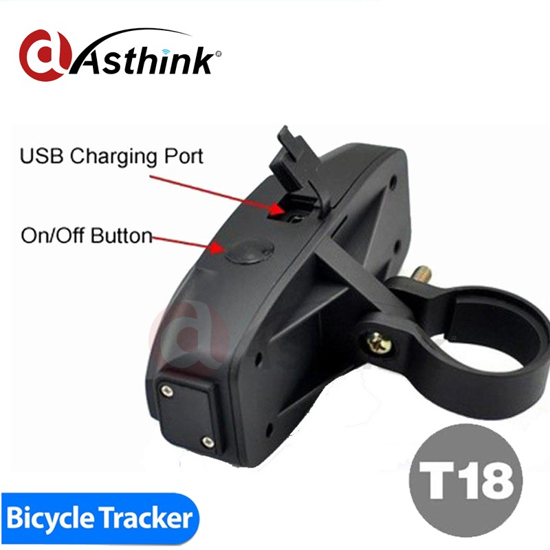 Tail Lamp Bike GPS LED working on automatically with motion 4g lte gps tracker with great price