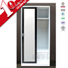 bedroom wardrobe sliding door design / new model mirror door steel armoire