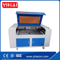 Price for acrylic mdf laser engraving machine ,glass laser cutter ,card laser cutting machine 1200*900mm