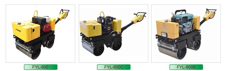 Water-cooled Diesel Hydraulic Self-propelled Vibratory Road Roller (FYL-800CS)