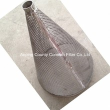 Stainless Steel Perforated Filter Cylinders/Conical Filter Strainers