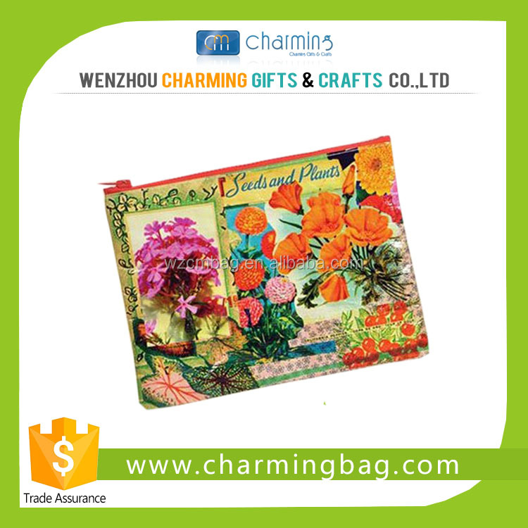 Beautiful Customized Coin Purse with CMYK Printing