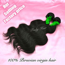 Hot sale product, peruvian hair extension,natural color