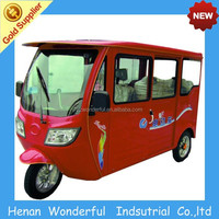Sunshine Solar piaggio three wheelers for passenger
