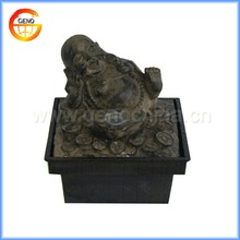 laughing buddha table water fountain with GRC