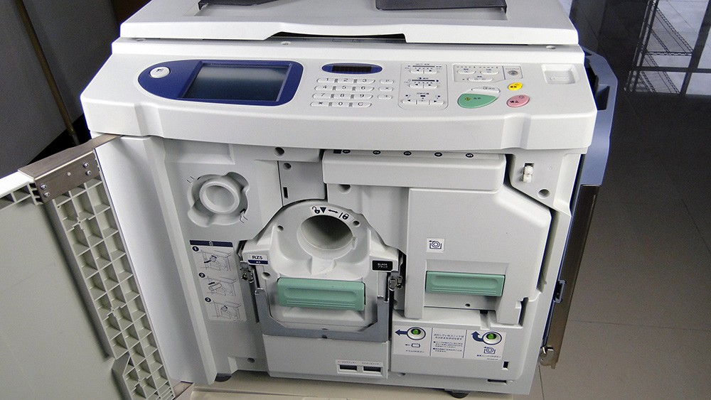 Used RZ670 A3 digital printer for Risos duplicator printer machine