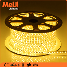 High Quality Single Color Smd 5050 LED Strip 220v 60leds/m strip light Warm White Flexible LED Strip Light