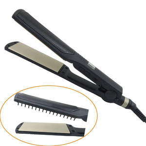 Solano Flat Iron with Temperature Control with removeable comb