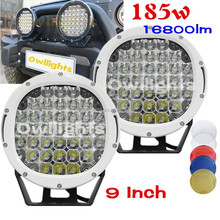 japan car accessories 4x4 Auto 12v LED lights High Power 9inch driving light 111w LED Driving Light