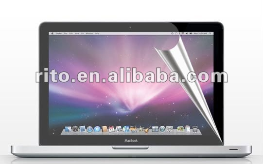 Glossy Clear LCD Screen Protector for Macbook Pro 17 17 inches