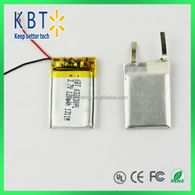 high temperature polymer lithium battery KBT lithium battery rechargeable lithium battery